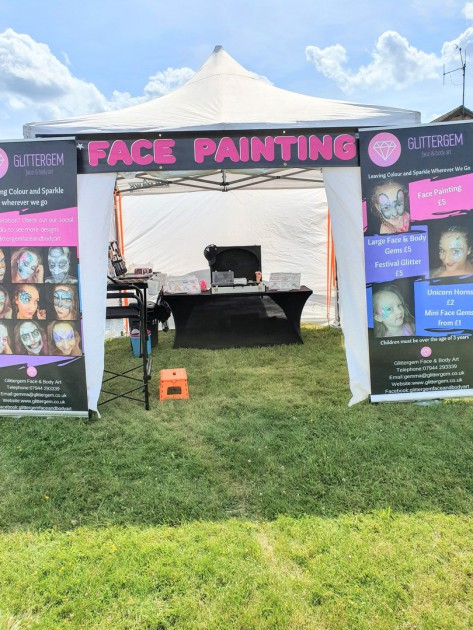 Face painter South Yorkshire